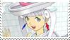 Toilet Girl Stamp by SpektrumSP