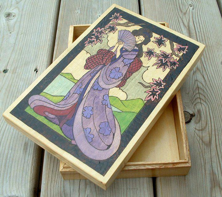 geisha box by Shell4You