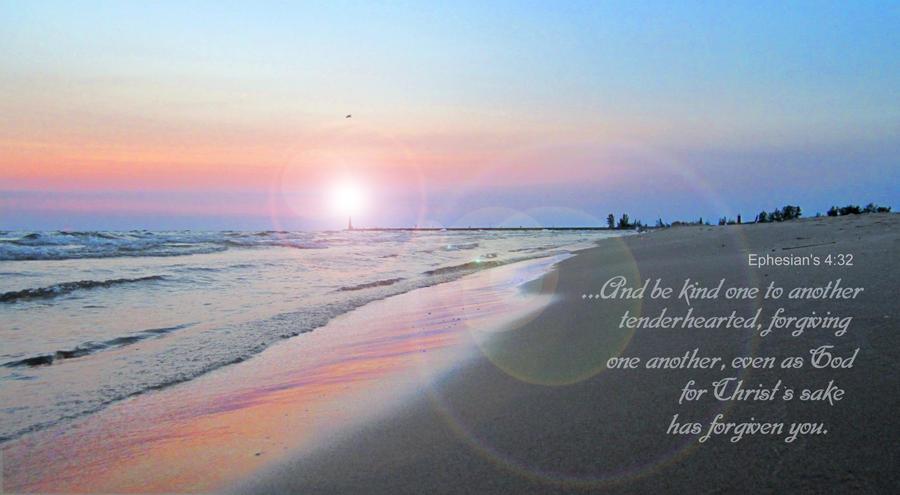 707Artwork's - Ephesians 4:32 by 707ArtWorks