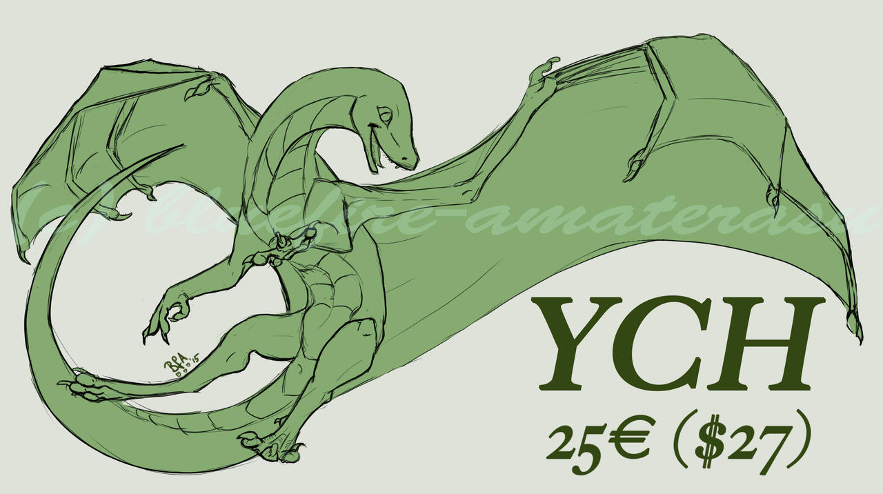 YCH -slots available- by Bluefire-Amaterasu