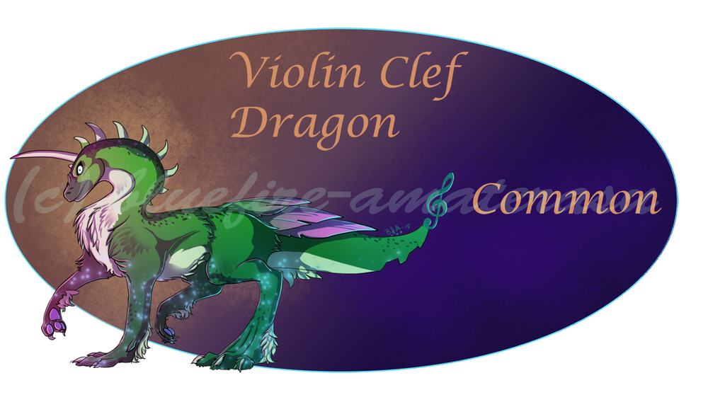 Violin Clef (Common) by Bluefire-Amaterasu