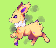 Cloudy with a chance of Jolteon
