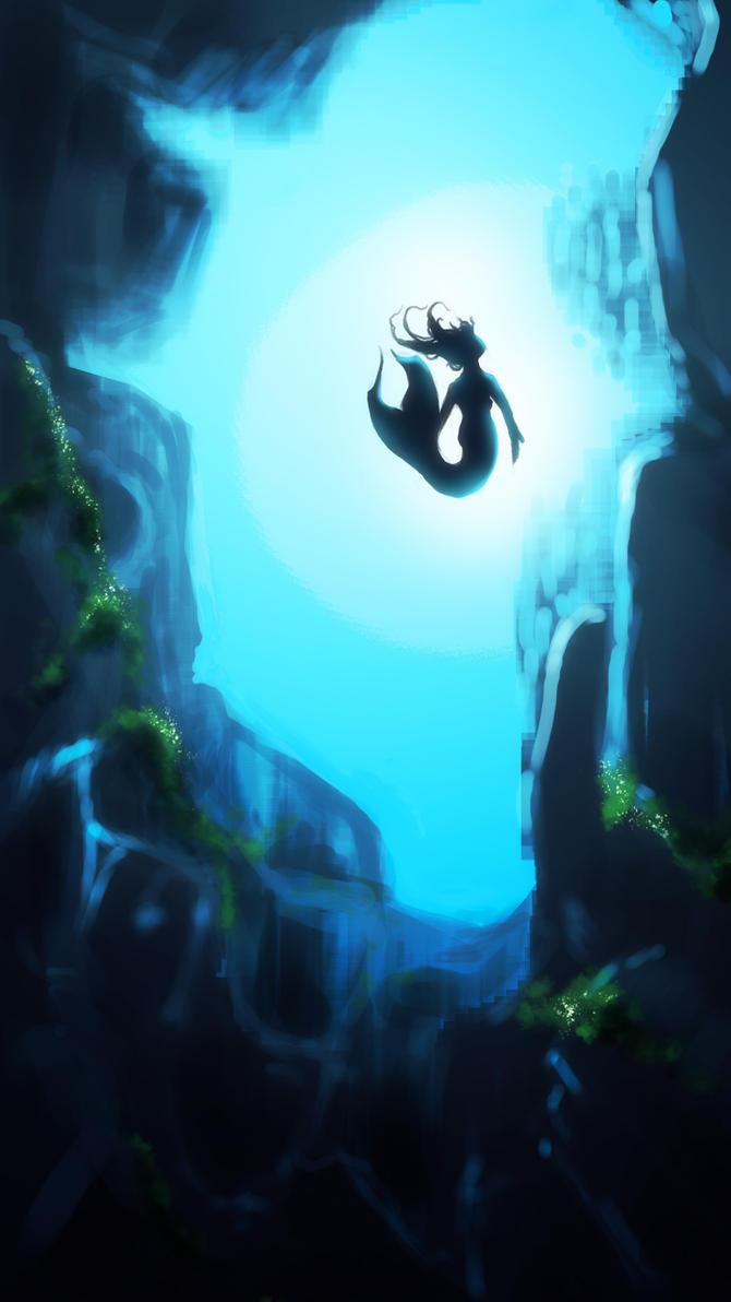 Mermaids Grotto by Amarbiter