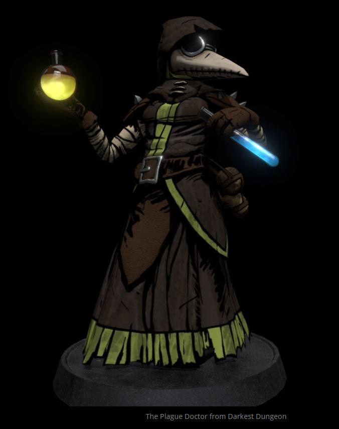 Plague Doctor 3D by Amarbiter