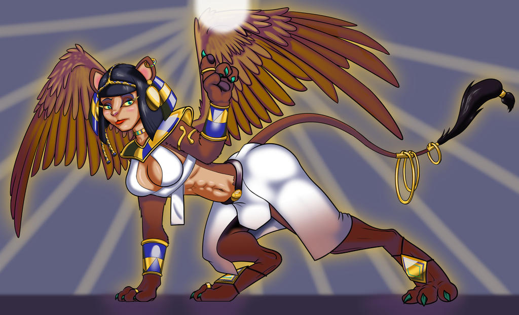 The Great Sphinx by Toonvasion