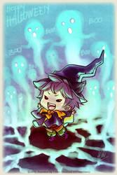 Happy Halloween :) by Wolvtrune