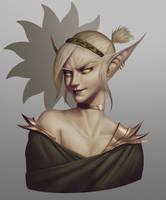 Blood Elf by MathiasOsland