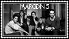 Maroon 5 Stamp by AllIFearMeansNothing