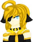 Pixel Kanochi Neko by Sapphirethedragon2
