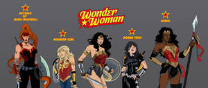 Wonder Woman: Squad Themyscira