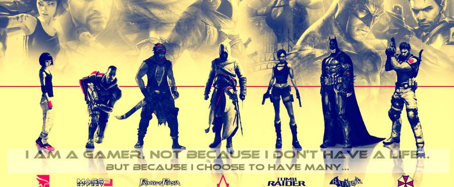 I Am A Gamer Wallpaper I Am A Gamer... by Gam...