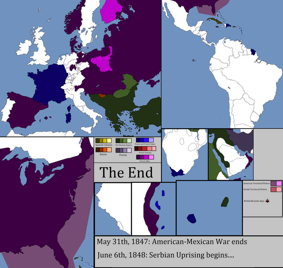 Alternate History: Napoleonic wars (Aftermath) by Hurricanehunter03