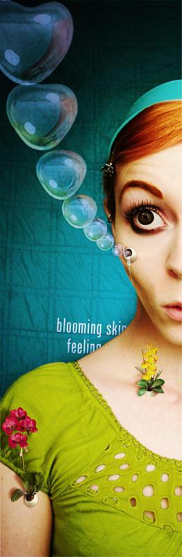 blooming skin feeling