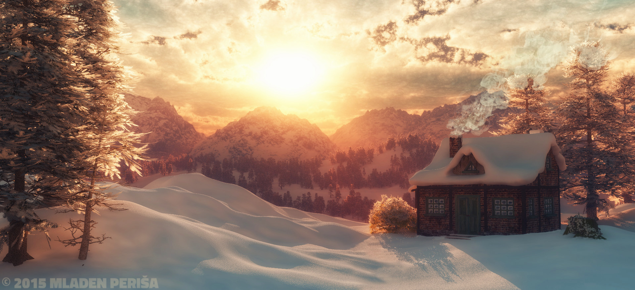 Winter Stillness by Mladjo00