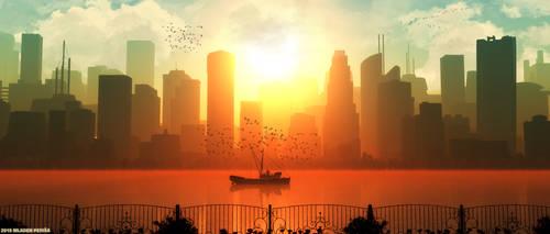 Utopian Morning by Mladjo00