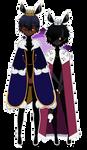 fairy princ(ess)es uwu? [Kisekae 2 exports] by TabbyHoney
