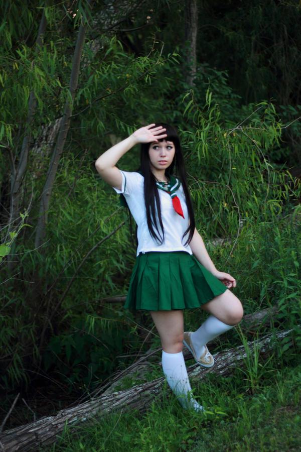 Inuyasha kagome cosplay pity