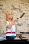 Asuna Cooking Outfit SAO Cosplay: Big Flip