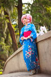Kimono Madoka Magica Cosplay