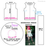 Morgiana Cosplay Pattern Tutorial [Magi]