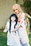 Asuna and Yui Sword Art Online Cosplay