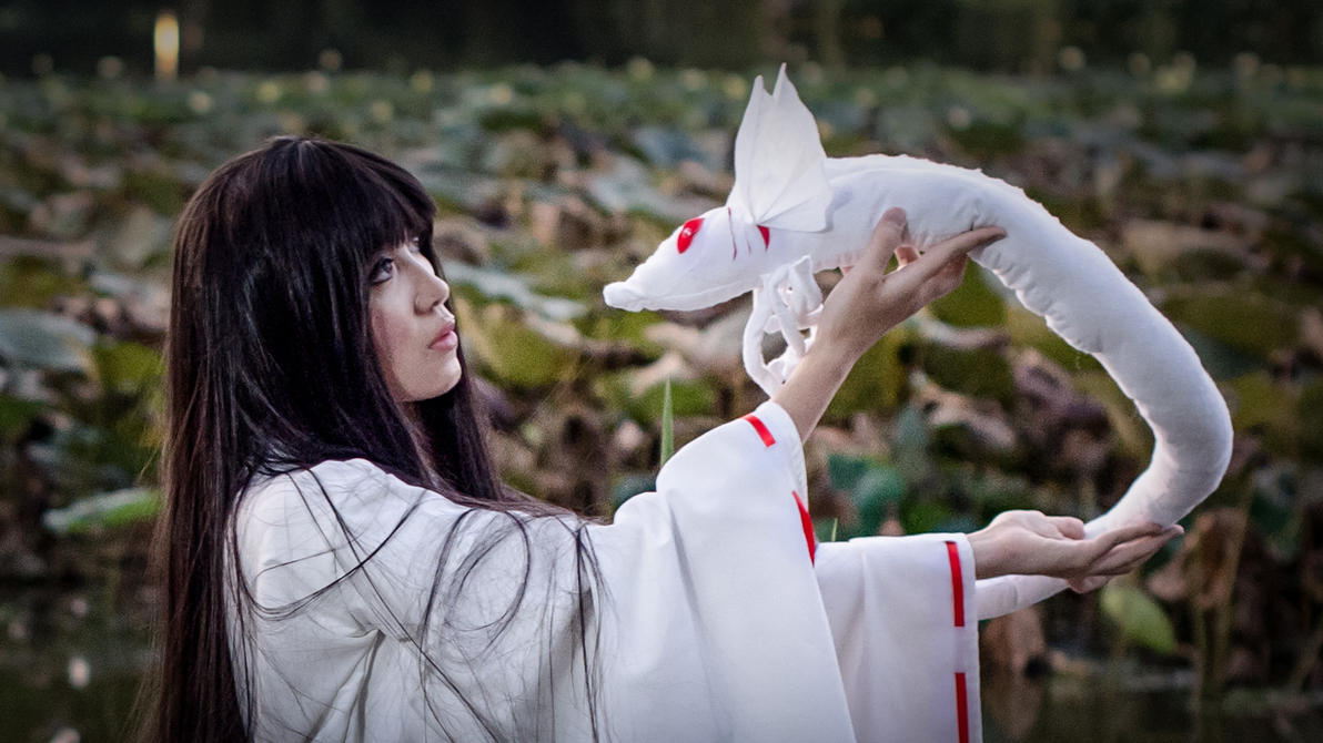 Kikyo's Soul Collector Cosplay by firecloak