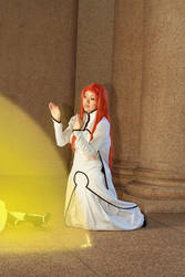 Orihime Inoue: Healing Power, Bleach Cosplay by firecloak