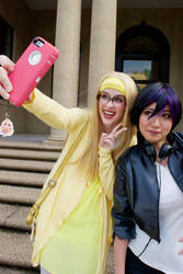 Go Go and Honey Lemon Selfie by firecloak