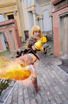 Yang Xiao Long's Flaming Kick