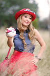 Serena Pokemon XY Cosplay with Love Ball by firecloak