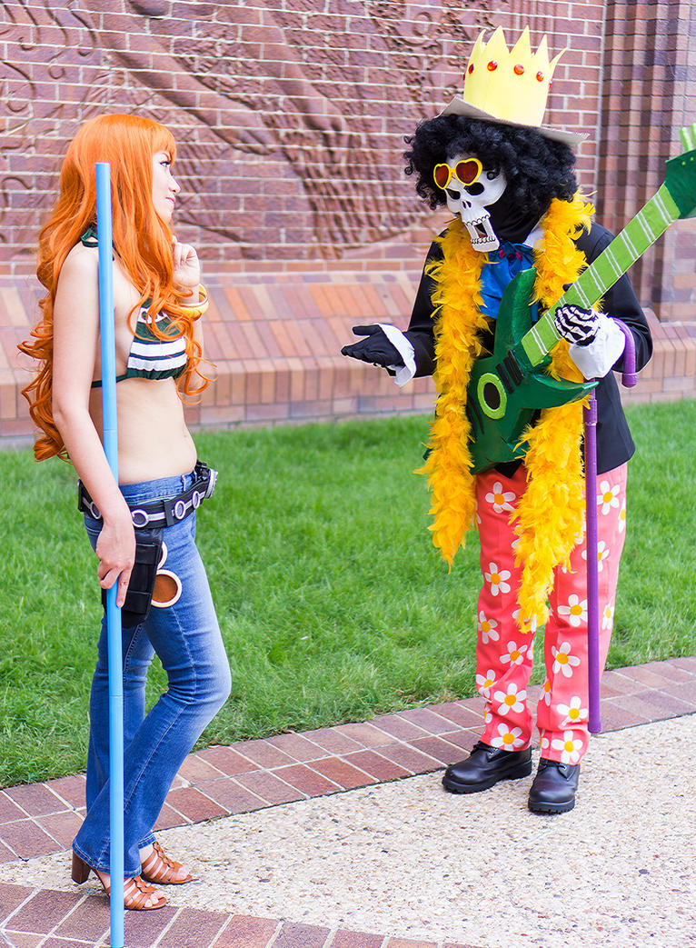 may i see your panties: one piece nami brookfirecloak on deviantart