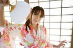Hiyori Yukata with Fan