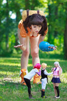 Diane, Gowther, Meliodas, Elizabeth SDS Cosplay by firecloak