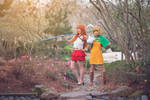 Nami and Carrot, Battle,One Piece Mink Arc Cosplay