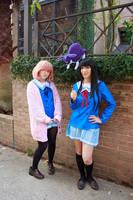 Mirai Kuriyama and Mitsuki Nase Cosplay by firecloak