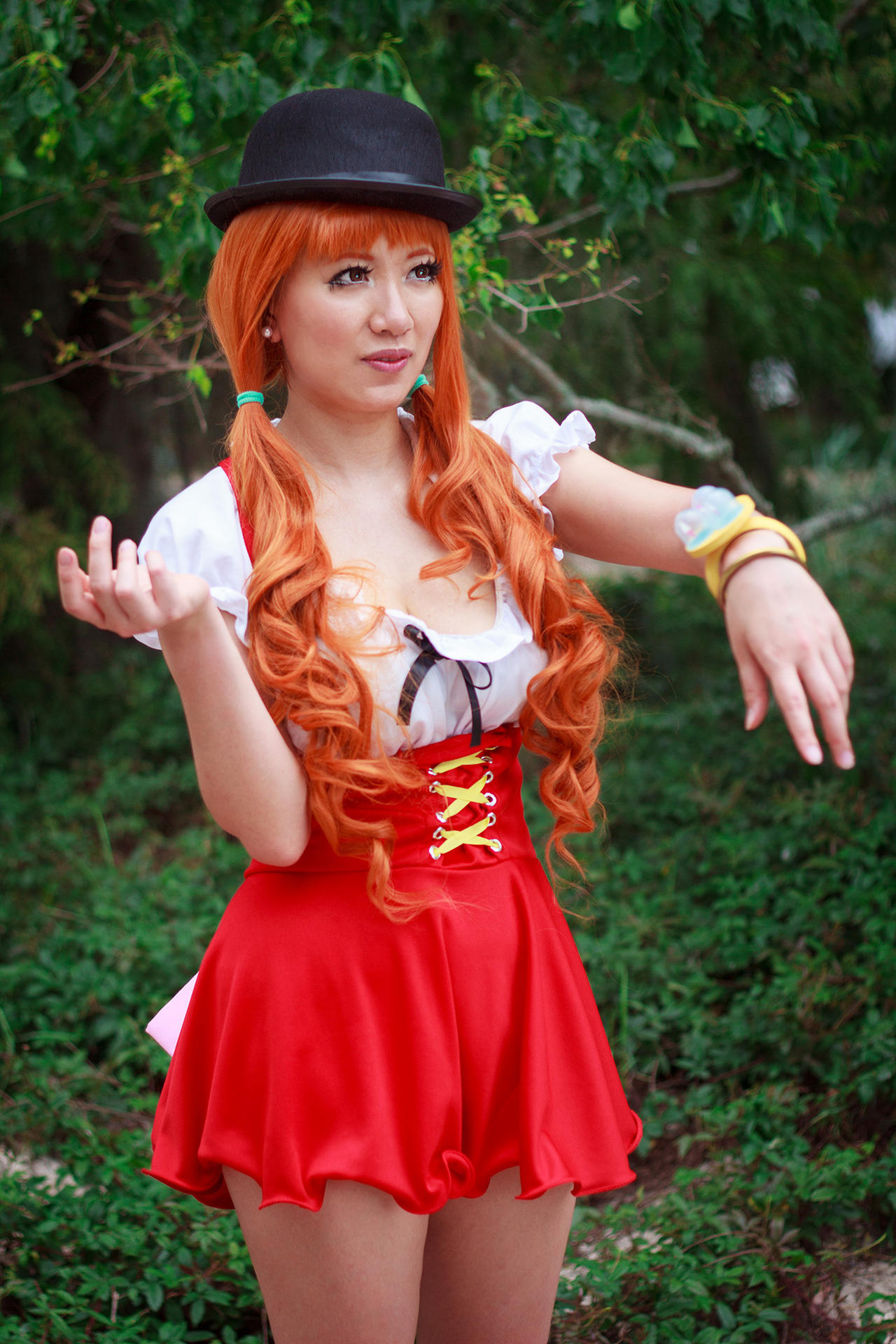 Nami Confused About Whole Cake Island Cosplay by firecloak