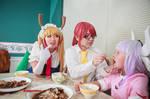 Tohru Wants Kobayashi to Feed Her, Dragon Maid
