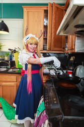 Tohru Cooks, Miss Kobayashi's Dragon Maid Cosplay by firecloak