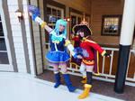 Megumin and Aqua Konosuba Cosplay