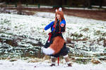 Holo in the Snow [Spice and Wolf Cosplay]