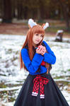Holo and Apple, Spice and Wolf Cosplay
