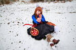 Apple from Holo, Spice and Wolf Cosplay