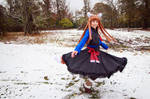 Holo Twirls in the Snow