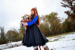 Holo Looks Ahead, Spice and Wolf Cosplay