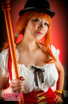Confident Nami Whole Cake Island-One Piece Cosplay