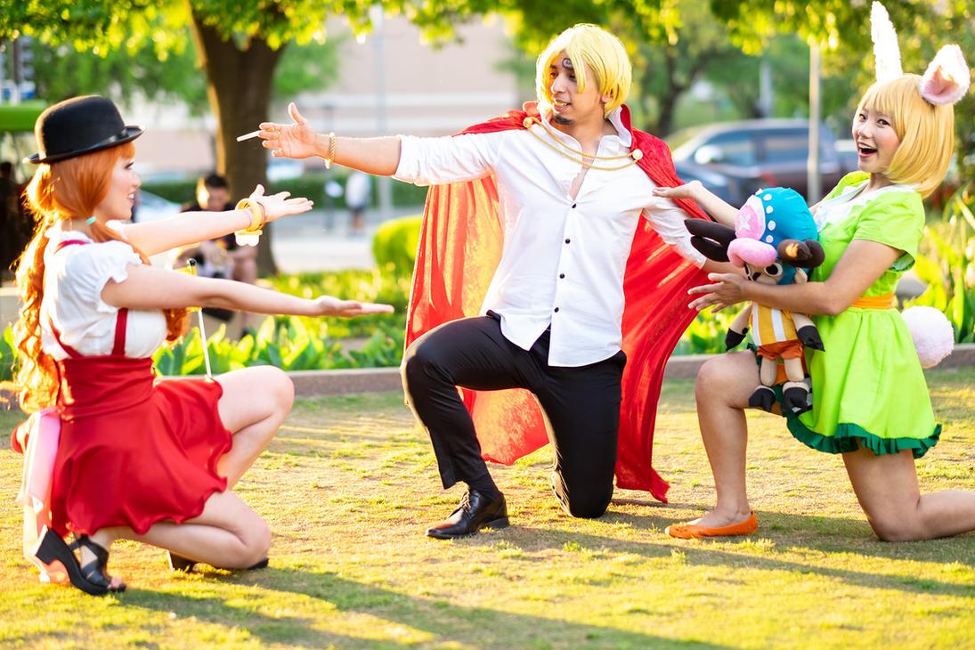 We Found Sanji! One Piece Nami Carrot Cosplay by firecloak