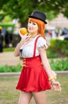 Nami Loves Oranges, Whole Cake Island One Piece