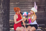 Nami Carrot Whole Cake Island Party Dress Cosplay