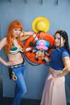 Nami, Robin, Chopper-One Piece New World Cosplay