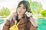 Nanami Smiles with Mamoru - Kamisama Kiss Cosplay